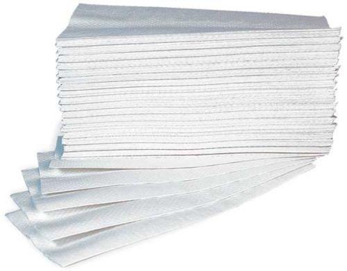 takestop® 60 Pezzi Asciugamani Asciugamano in Carta A Secco MONOUSO RIPIEGATI Singoli 40x70 CM USA Getta Goffrata Professionale