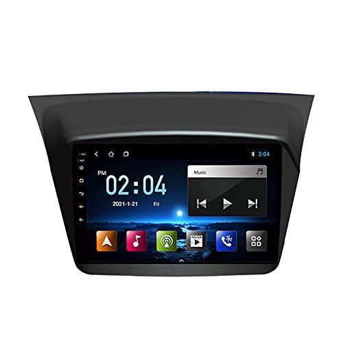 Radio Coche con Cámara De Visión Trasera Car Stereo FM Receptor Manos Libres Radio Android 10.0 Apoyo Carplay/Dab+/DSP, para Mitsubishi Pajero Sport 2013-2017,Quad Core,WiFi 1+32