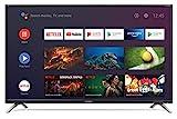 Sharp 1T-C32BI2KE2AB 32-inch Android TV with Freeview HD, Google Assistant, Google Chromecast, 3 x HDMI, 3 x USB and Bluetooth Black