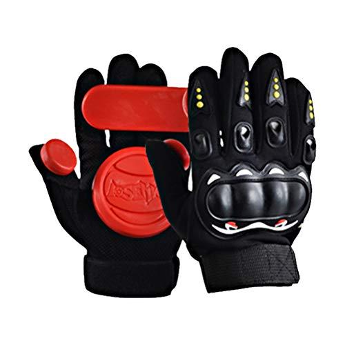 Akemaio Slide Gloves Speed Brake Gloves 1 Paar Land Skateboard Slider Slide Handschuhe Longboard Skateboard Sliding Gloves