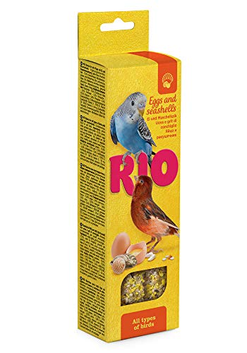 RIO Sticks für alle Vögel mit Ei und Muschelkalk, 0.08 kg