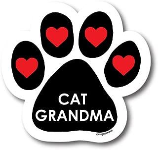Magnet Me Up - Cat Grandma Pawprint Car Magnet - 5