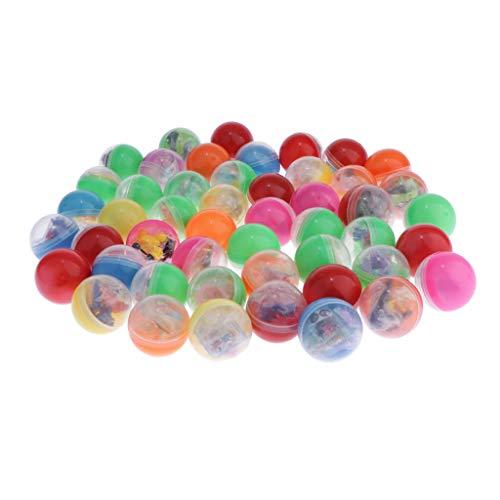 HomeDecTime 50 Huevos de Pascua Precargados Retorcidos para Rellenos de Canastas de Regalos de Fiesta Temática