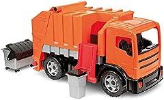 Lena LENA2166, Camión de Juguete, Color Naranja y Gris