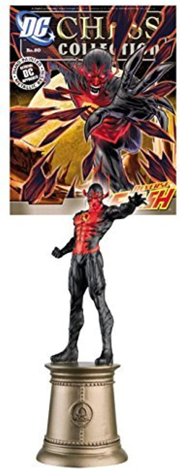 DC Superheroes Chess Figure Collection  60 Reverse Flash with Magazine by DC Chess Collection