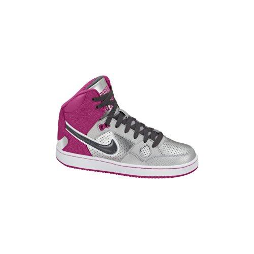 Nike 908822, Vello Sportivo Donna, Particle/Rosa/Nero, XS