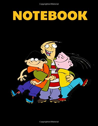 Notebook: Friends Animated Comedy V2 Cartoon Cover Blank Drawing Book- Large Notebook for Drawing, Doodling or Sketching: 110 Pages 8.5' x 11' Writing ... ... Planner, Diary, Journaling, Gratitude