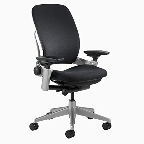 Steelcase Leap V2 Chair with Platinum Base...