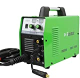 MIG Welder Flux Core 110V/220V Reboot MIG150 Gas/Gasless Stick Mig Welding Machine Dual Voltage 150 Amps 2 in 1 Flux Core/Solid Wire Automatic Feed IGBT Inverter MMA ARC Welding