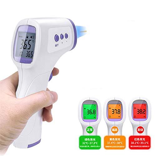 eiuEQIU Akkurates Berührungsloses Infrarot Messung Kontaktlos mit LCD Display für Kinder und Erwachsene,Handtemperaturmesser Dual-Modus Stirnkörperoberflächenmessung