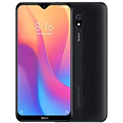 "6.22""(15.8cm) Dot Notch Display, HD+ (720*1520), PPI: 270, 5000mAh Li-Polymer Battery 32GB ROM, 2GB RAM - microSD, up to 512 GB (dedicated slot) - Qualcomm Snapdragon 439 processor- Android 9.0 (Pie); MIUI 10 Rear Camera: 12MP AI, Front camera: 8MP, ..."