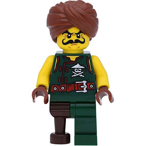 LEGO Ninjago - Minifigura de soldados de los piratas aéreos (Skybound) con turbante y armas