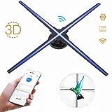 VBESTLIFE 3D Hologramm Projektor, WiFi 1024 * 1024 LED Holographic Projektor 3D Holographischer...