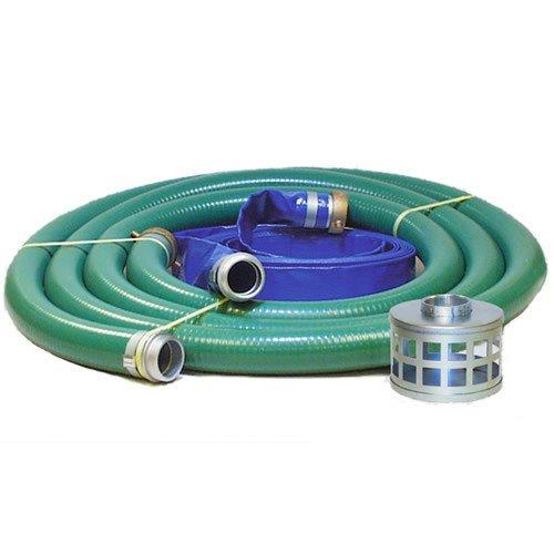 JGB Enterprises Eagle Hose PVC/Aluminum Water/Trash Pump Hose Kit, 2