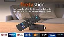 Fire TV Stick mit Alexa-Sprachfernbedienung (mit TV-Steuerungstasten) | HD-Streaminggerät | 2021©Amazon