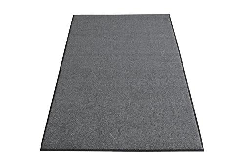 miltex 31021 Tappeto Olefine, grigio, 122 x 244 cm