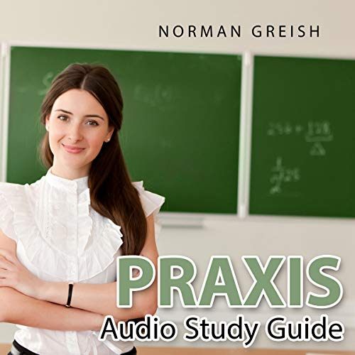 Praxis Audio Study Guide audiobook cover art