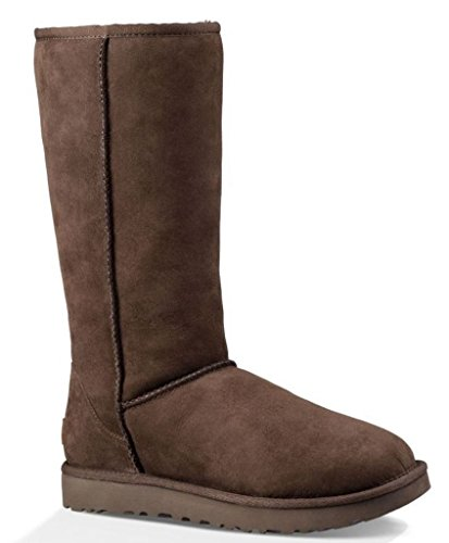 UGG Women's Classic Tall II Winter Boot, Chocolate, 5 B US
