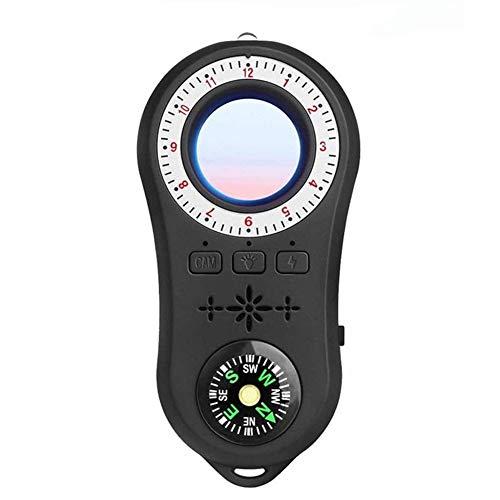 HBBOOI Detector anti espía, detector de cámara de vigilancia anti espía Señal inalámbrica de la cámara anti-encubierta del buscador de la cámara de la cámara RF Tracker detectar productos inalámbricos