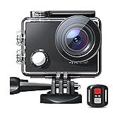 Action Cam 4K 30fps 20MP HD WiFi Fotocamera impermeabile Fotocamera subacquea 40M con telecomando 170°...