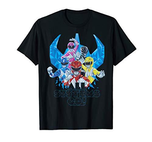 Power Rangers All Systems Go T-Shirt
