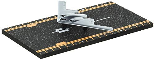 B-2 Stealth Bomber (Silver) with Connectible Runway