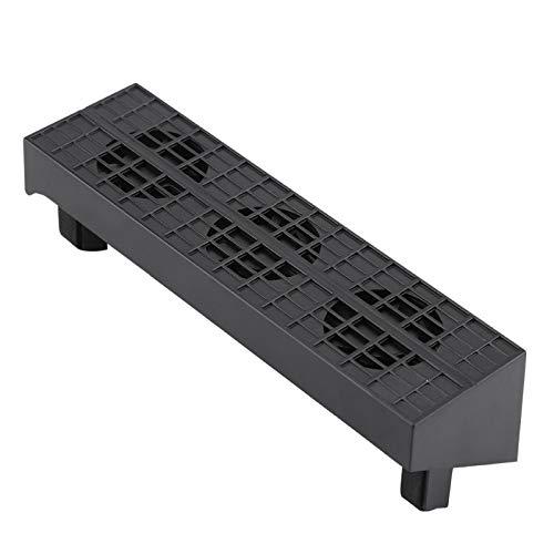 Ventilador de enfriamiento delgado PS4, DC 5V Control de temperatura inteligente Ventilador de enfriamiento Enfriador de extractor de calor con combinación de concentrador USB, Enfriador contr