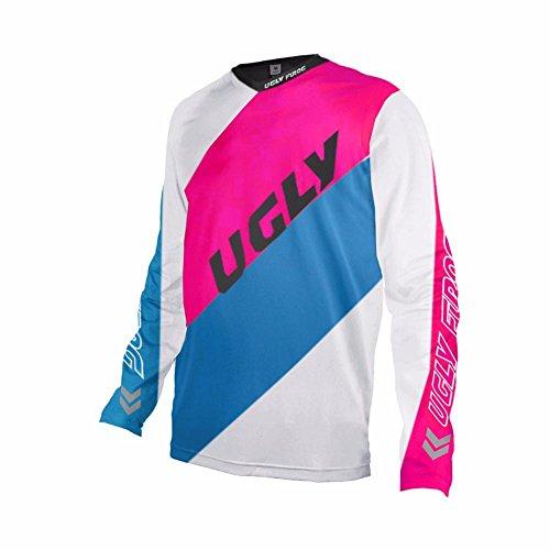 Uglyfrog #03 Designs Blocks Motocross/Downhill Jersey Lange Ärmel Frühling Trikot MX Enduro Offroad Gelände Quad Cross Erwachsene