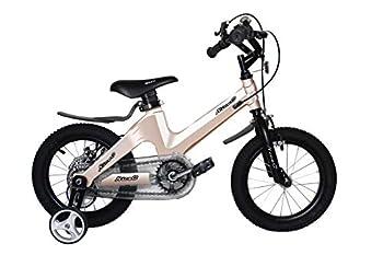 NiceC BMX Kids Bike with Dual Disc Brake for Boy and Girl 12-14-16-18 inch Trainin sg Wheels  14  Champagne