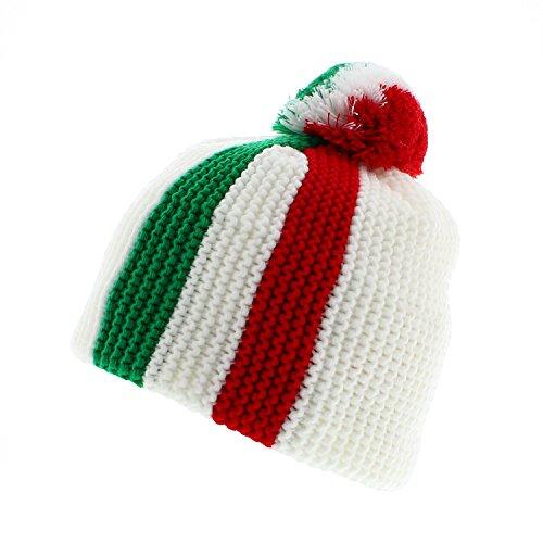 Votrechapeau - Bonnet pompon italien - Italia