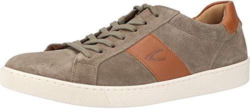 camel active Herren Tonic Sneaker, Mehrfarbig (salvia/Nature 04), 43 EU