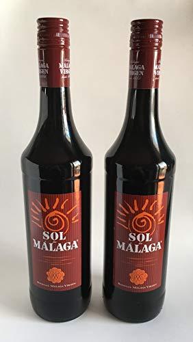 Sol de Málaga Vino Dulce de Pasas [Pack 2 botellas 75 cl]