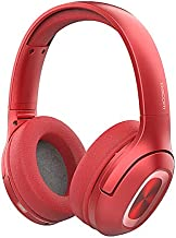 DACOM HF002 Wireless HeadphonesBluetooth 5.0 with Hi-Fi Deep Bass, Over Ear Bluetooth Headphones, CSR+TI Chip with CVC 8.0 Noise Cancelling, Soft Protein Earpads,65 hrs Palying Time for PC and Phone