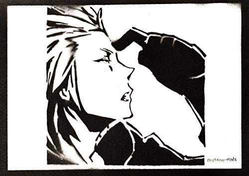 Kingdom Hearts Poster Axel Plakat Handmade Graffiti Sreet Art - Artwork