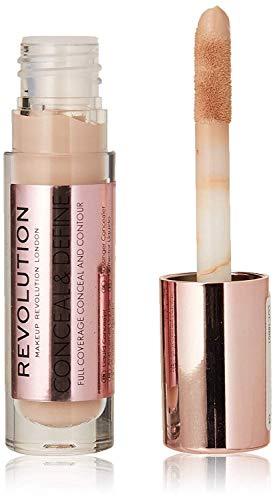 Makeup Revolution Conceal & Define Full Coverage Concealer ~ (light skin tones w/a pink undertone) C4