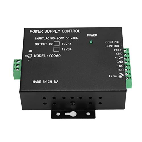 Interruptor de Fuente de alimentación Cerradura eléctrica de Metal Anti-sobretensión
