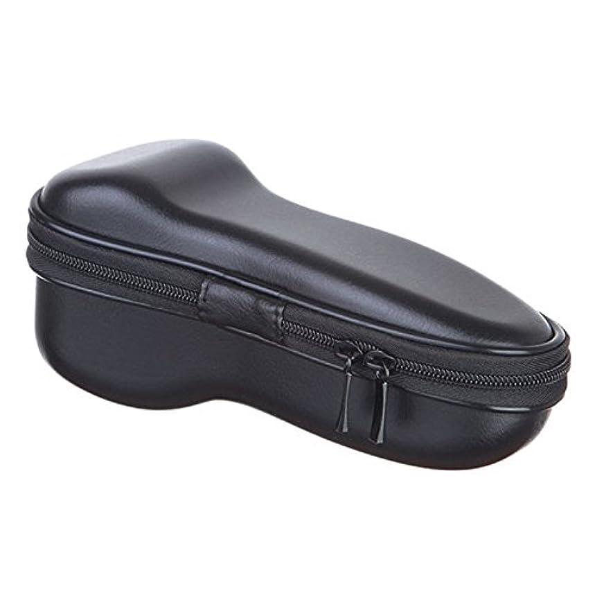一定倫理完全にSODIAL ユニバーサル 電気 シェーバー ジッパー付き 収納バッグ 旅行EVA保護 ショックプルーフ ケース ボックス ポーチ カバー カミソリ/シェーバーのバッグ