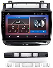 Android 10.0 Car Stereo Double Din Head Unit for Volkswagen TOUAREG 2012-2016 GPS Navigation 9 Inch Touch Screen MP5 Multimedia Player Radio Video Receiver with 4G DSP Carplay