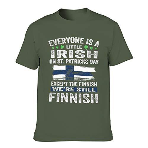 3D Kreativ Männer T-ShirtsKurze HülsenTee Classics Herren T-Shirt BuntT-Stücke Army Green s