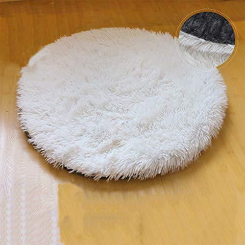 Vivi Bear Bett Katze Kissen rund Plüsch für Haustiere Nest Deep Sleep Pet Matratze dick Warm geeignet für Welpen Kätzchen Kleintiere