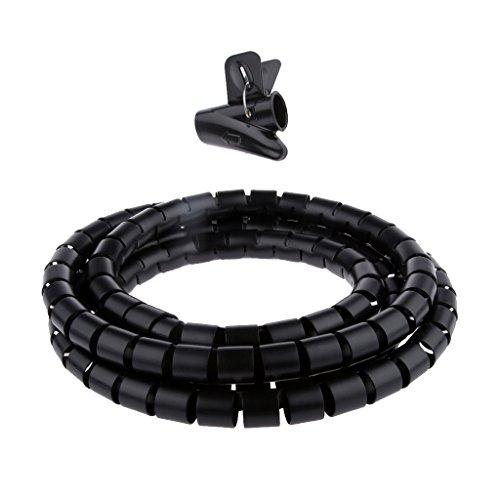 tuyaux de Protection 8 mm de diam/ètre pour Rangement SYN Prot/ège-c/âble en Spirale