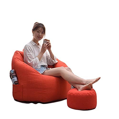 Funda para silla de puf (sin relleno), ultra suave, ultra suave, para organizar juguetes de peluche para niños