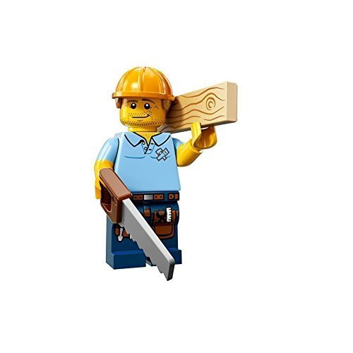 Lego Series 13 Minifigure - Carpenter - #9 CMF 71008 by LEGO
