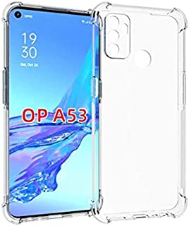 Oppo A53 2020 Case Cover Protective Shock Absorption Bumper soft Transparent Case For Oppo A53 - CLEAR
