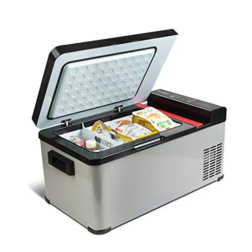Mini Fridges Refrigerador de Coche/Mecanismo de compresión Almacenamiento en frío congelador móvil de Leche Materna 12V24v camión Grande hogar de Doble Uso (13.L y 37L)