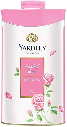 Yardley London - Talco perfumado para mujer, 250 g, 1 pieza