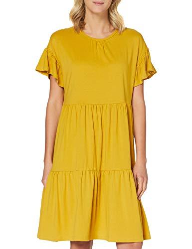 Only Onlarlene L//S Dress Wvn Vestito Elegante Donna