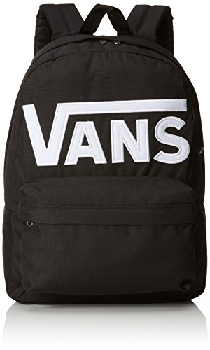 Vans OLD SKOOL II BACKPACK Mochila tipo casual, 42 cm, 22 liters, Negro (Black/white)