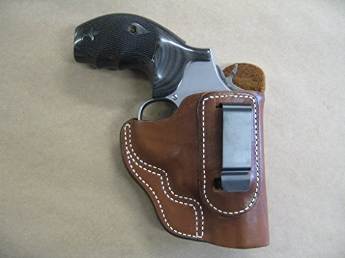 Azula IWB Leather in The Waistband Carry Holster for Smith & Wesson K/L Revolver S&W TAN RH