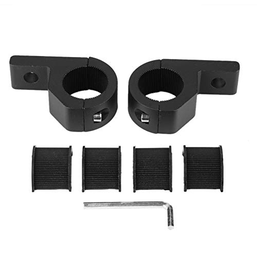 Suuonee Light Bar Mounting Kit, Universal 20-30mm Auto LED Light Bar Montagehalterung Klemmhalter Kit